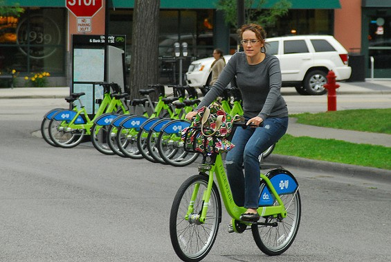 Kansas City does it. So do Denver, D.C., New York and Boston. Is it time for bike sharing in St. Louis? - TSUACCTNT VIA FLICKR