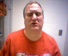 Scott Reynolds photographed in February 2010 after fighting with his fiancée. - CAPE GIRARDEAU COUNTY SHERIFF VIA KFVS12.COM