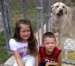 Lexi, age seven, saying goodbye to Phineas. - VIA