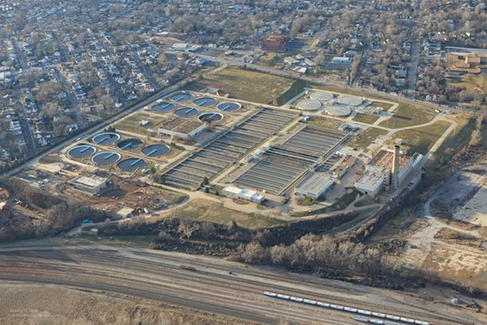 One of the local wastewater treatment plants. - VIA FACEBOOK / MSD