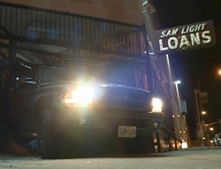 Crime scene early this morning. - VIA KSDK (VIDEO BELOW)