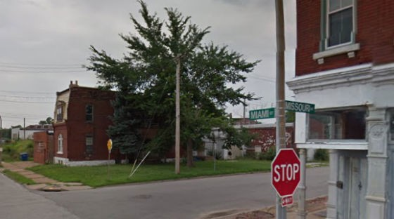 Street where the burglary/shooting took place. - VIA GOOGLE MAPS