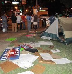 Slay to Kiener Plaza protesters: Move along!