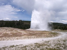 Yellowstone National Park: great for tourists, tough on hitters.