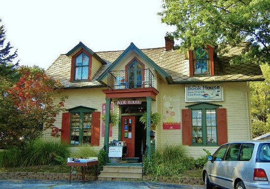 This is what the Book House used to look like.
