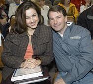 Nina Abboud and Jim Kennedy in 2007. - PHOTO: JENNIFER SILVERBERG