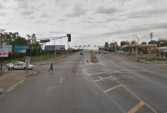 Goodfellow Boulevard and Laura Ave. - VIA GOOGLE MAPS