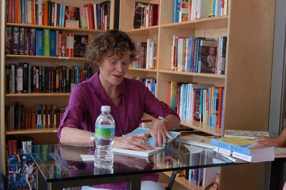 Judy Blume will sign copies of her new book, In the Unlikely Event, in St. Louis in June. - CLENDER VIA FLICKR