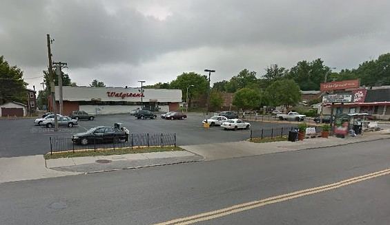 The Walgreens where the store owner shot the would-be robber. - GOOGLE MAPS