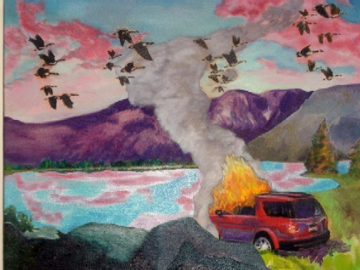 Annunciation (SUV) - CHRISTOPHER PAQUET