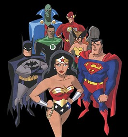 This Justice League does not endorse dogfighting - IMAGE VIA