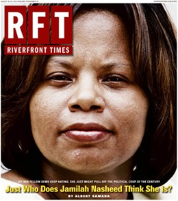 """The cover of our August 2011 feature story on the woman who """"just might pull off the political coup of the century."""""""