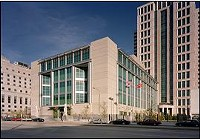 The Justice Center on Tucker Blvd. was completed in 2002 at a cost of around $80 million. - KWAMEBUILDINGGROUP.COM