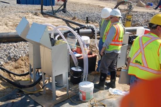 Workers at Bridgeton Landfill. - VIA DNR.MO.GOV