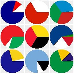Can you name these flags from their color percentage? - SHAHEEILYAS.COM/FLAGS