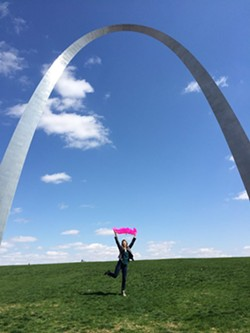 Lyft's emblematic pink mustache has arrived in St. Louis. Will a judge let it stay? - LYFT