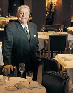 Vincent Bommarito in his restaurant Tony's - IMAGE VIA