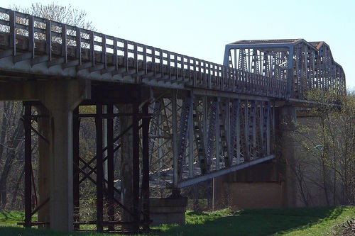 The old Tuscumbia Bridge. She ain't what she used to be. Ain't what she used to be. - FLICKR.COM/PHOTOS/SETHGAINES