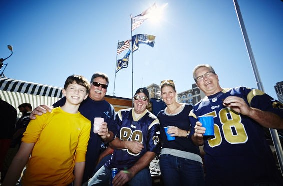 Don't worry, St. Louis Rams fans. Rumor has it the team will stick around for a while. - THEO WELLING