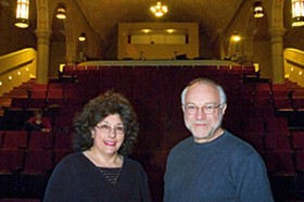 Perrino and Allen in happier days at the Ivory. - JENNIFER SILVERBERG