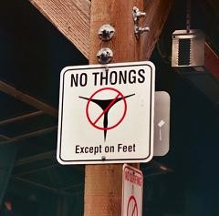The new law bans strippers from appearing nude. They can't even wear thongs.
