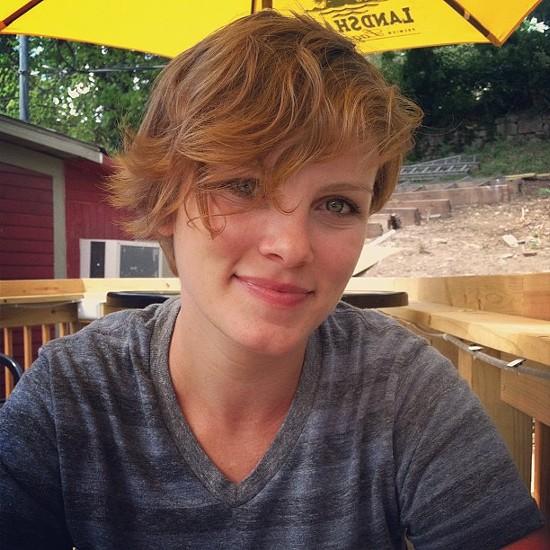 Meg Hensley found her address and homophobic slurs posted about her on Craigslist. - FACEBOOK