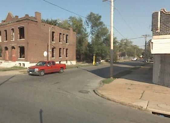 Lexington at Newstead near where Manion's body was found Saturday.