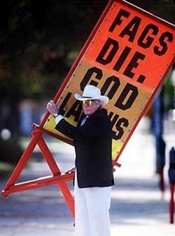 Rev. Fred Phelps.