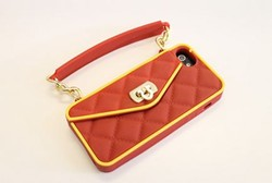 The Team Spirit pursecase features Cardinal red and gold colors. - PURSECASE.COM