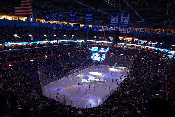 Scottrade Center: The sixth best place to watch Hockey in the U.S., says Stadium Journey Magazine. - HERKIE ON FLICKR