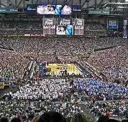 The view from that other Final Four.