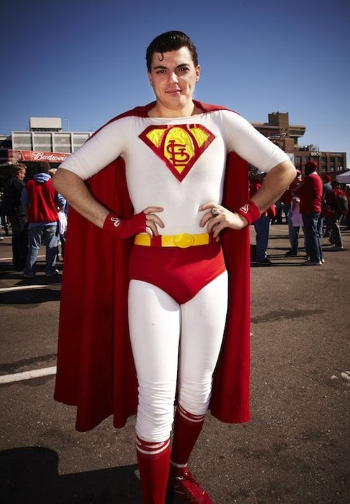 St. Louis' Superman. - STEVE TRUESDELL