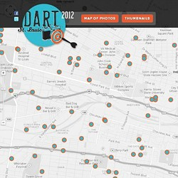 Screengrab of www.2012.dartstlouis.com