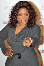 Oprah Winfrey said goodbye to America yesterday -- but she'll say goodbye to St. Louis viewers today.
