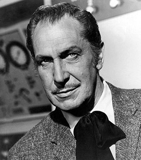 Sure, it doesn't have anything to do with football, but Vincent Price is the best Vincent I could think of associated with St. Louis. Plus, he's awesome. So there.