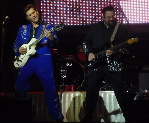 Chris Isaak crooned at the Pageant on Friday night. - PHOTO: ROY KASTEN