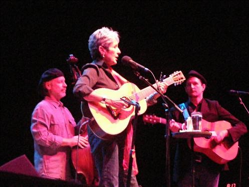 Joan Baez on Sunday night at the Pageant. - PHOTO: KATIE MOULTON