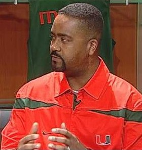 Frank Haith in his Miami days, which just might be coming back to haunt him.