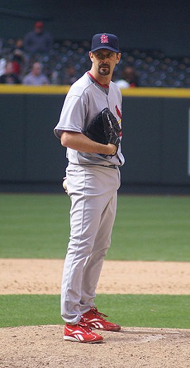 Trever Miller has been a mainstay for the Cardinals in recent years, but his 2011 performance is not encouraging. - COMMONS.WIKIMEDIA.ORG