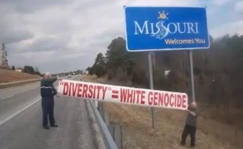 The White Man March reaches Missouri. - YOUTUBE
