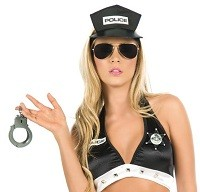 Lawsuit suggests T&C cops viewed female colleague as pure fantasy.