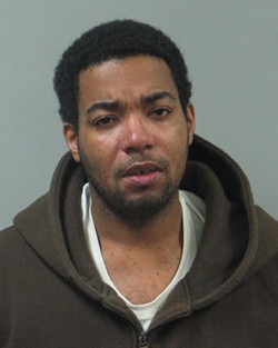 Sean Johnson, the alleged SIBA shooter, in a mugshot from a previous, unrelated arrest. - COURTESY SLMPD