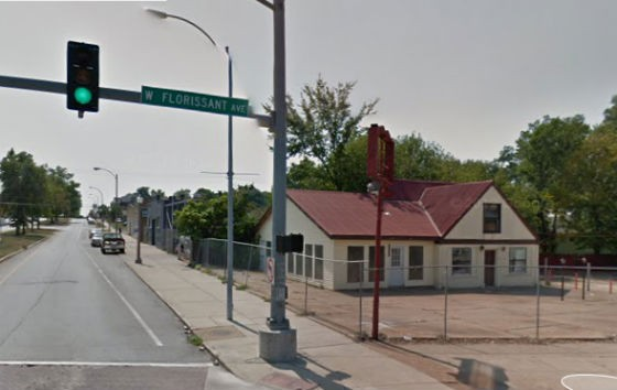 Intersection where the shooting began. - GOOGLE MAPS