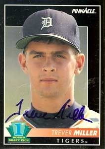 Face of a future LOOGY: Trever Miller early in his career with the Tigers. - BASEBALL-ALMANAC.COM