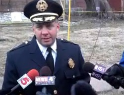 Police Chief Sam Dotson addressing media yesterday. Video below. - VIA