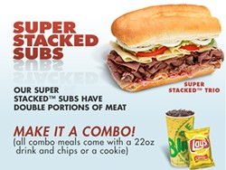 Somewhere, Jimmy John is smiling - IMAGE VIA BLIMPIE.COM