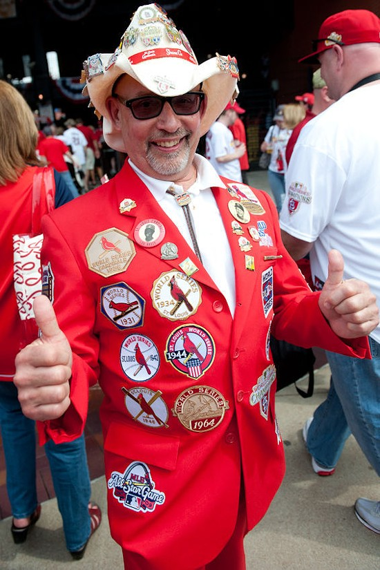 Opening Day outfits are better than Halloween costumes. - JON GITCHOFF