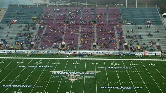 Couldn't make it to Shreveport yesterday? Join the, uh, crowd? - IMAGE VIA