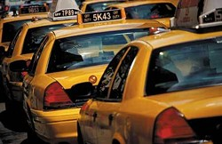 Two St. Louis cabbies say they've been unfairly assessed $1 each time they leave Lambert.