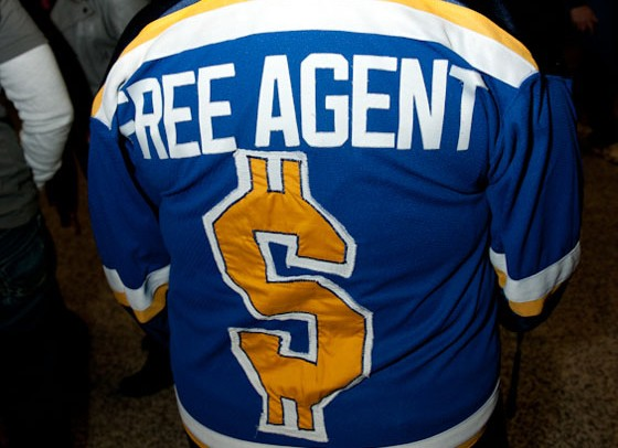 A Blues sweater for all seasons.